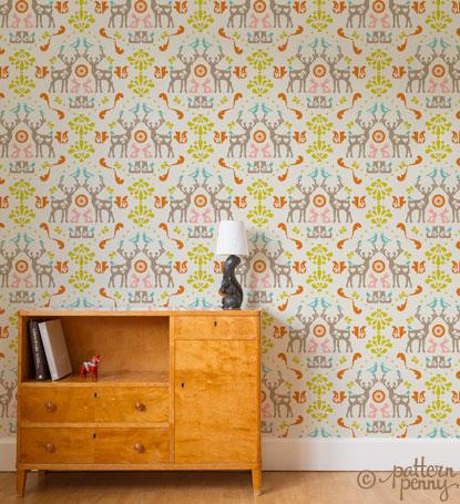 pattern_penny_folklore_medallion_Wallpaper