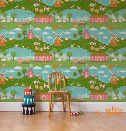 pattern_penny_funonthefarm_farm_friends_wallpaper_wallpaper-02