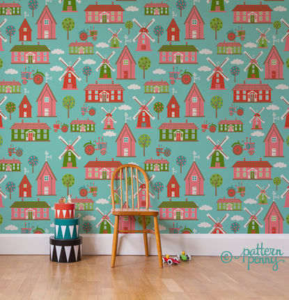 pattern_penny_funonthefarm_town_wallpaper-02