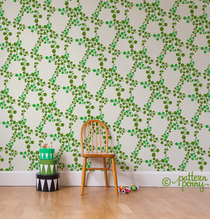 pattern_penny_retro_spotty_floral_olive_wallpaper-02