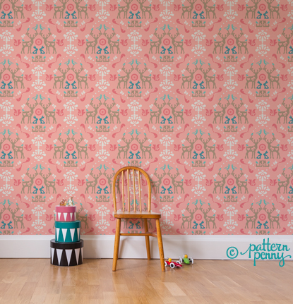 pattern_penny_folklore_medallion_aqua_wallpaper-02