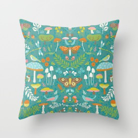 pattern_penny_flora_autumn_society6_throw cushion_photo