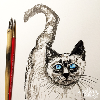 pattern_penny_ink_cat